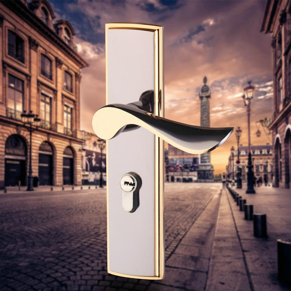 BEST Bedroom Key Locks Lock Wooden Door Stainless Steel Door Knobs(China (Mainland))