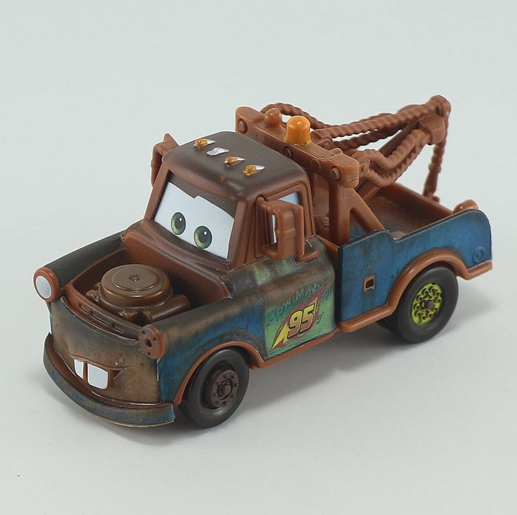 Pixar Cars Diecast Town Mater Metal Toy Car For Children 1:55 Loose Brand New In Stock Lightning McQueen(China (Mainland))