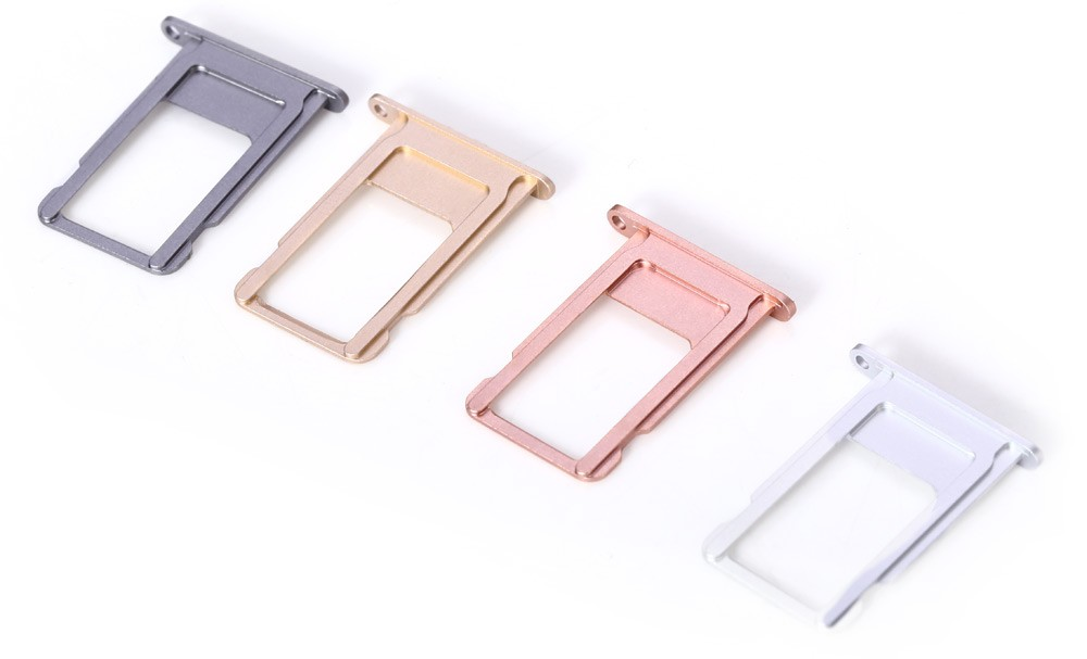 Whole Sale 50PCS/LOT Replacement for iPhone 6S Plus 5.5″ inch SIM Card Tray Holder Slot Original New High Quality Repair Parts