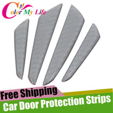 Car Side Door Stickers Protection Strips Jeep Wrangler JK Grand Cherokee Renegade Compass Patriot Jalket Liberty - Pozel Shopping Maill Store store