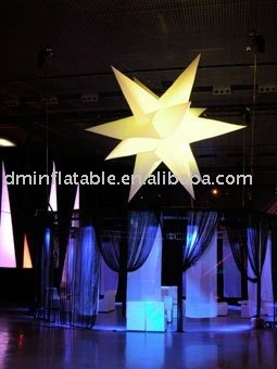 free shipping  inflatable decoration star
