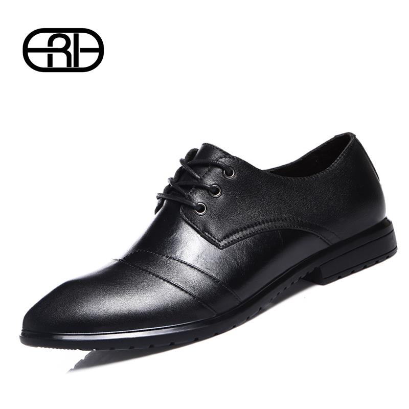Гаджет  2015 Brand Fashion Oxfords Shoes Men Genuine Leather Shoes Flats business Shoes classic Style Footwear  None Обувь