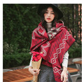 Brand Women Poncho Prorsum Cashmere Spandex Scarf lattice Poncho Prorsum linen Plaid Winter Check Blanket Poncho