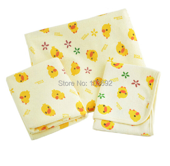 (3 Sizes) Newborn Baby Changing Pad Urinal Pad For Infant Child Bed Waterproof Cotton Cloth diaper inserts Changing Mat For Crib