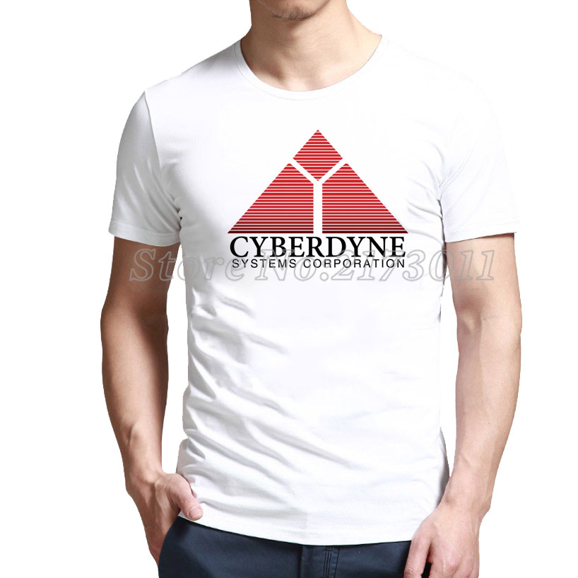 Best of Slim Fit Cyberdyne Systems Corporation - Terminator T-Shirt Online(China (Mainland))