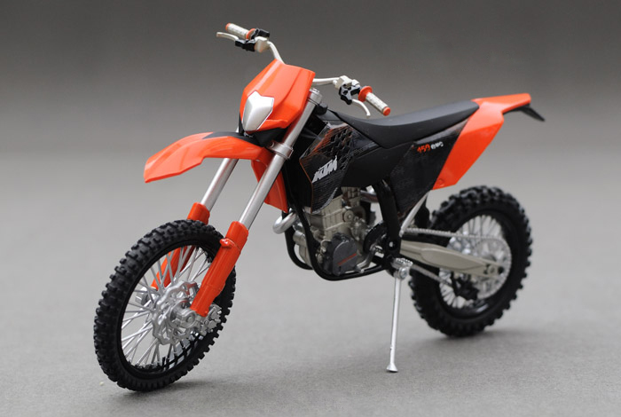 KTM 450 EXC 09 1:12 scale models Alloy motorcycle racing model motorcycle model Toys Toy motorcycle(China (Mainland))