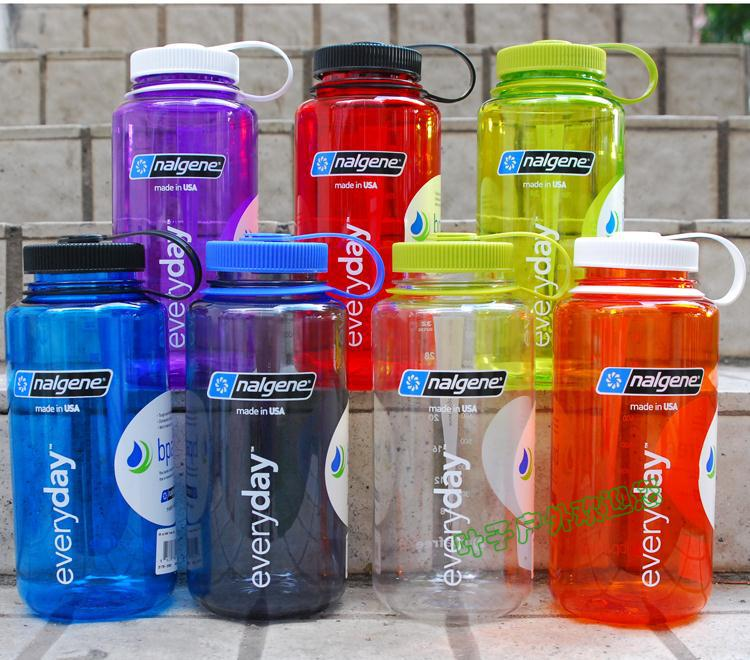 Health environmentally bpa free new 2013 nalgene water bottle wide mouth 1000ml casual sports water bottle