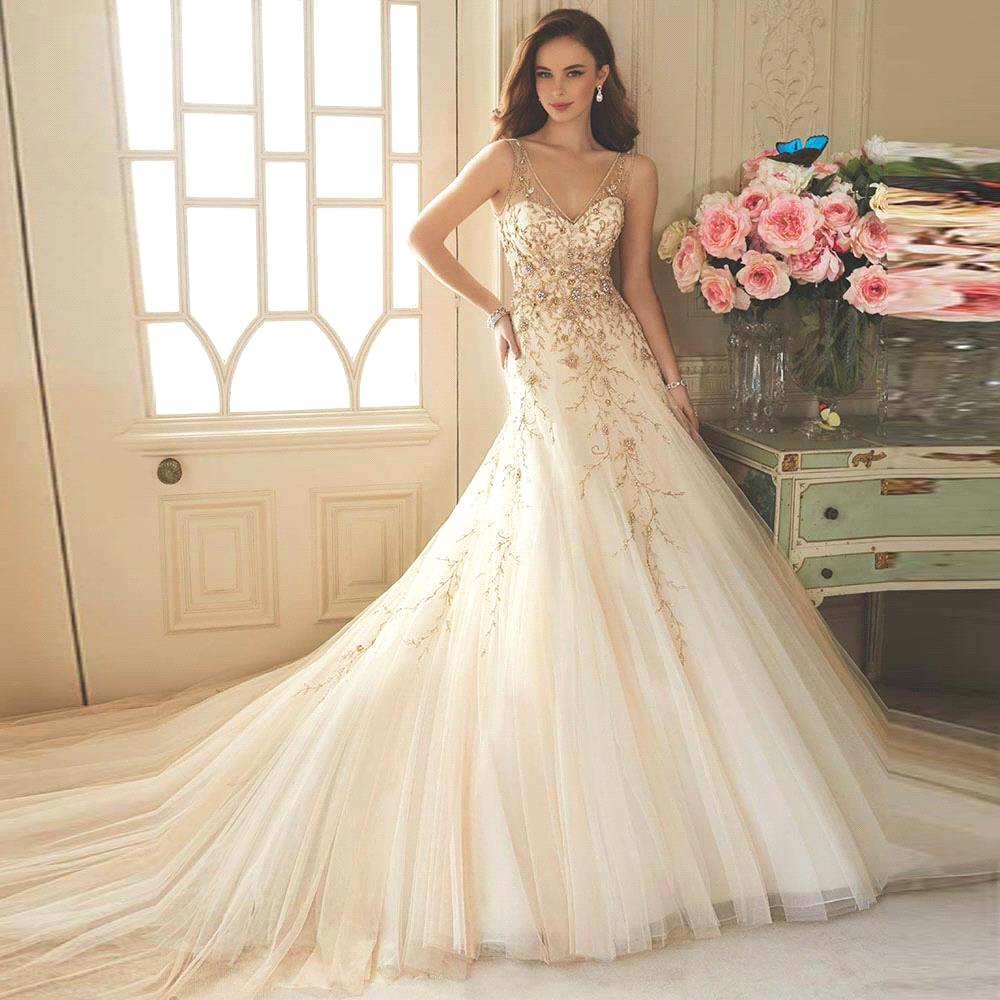 tulle ball gown wedding dresses lace sparkly wedding dresses Wedding Dress By Theia Bridal Gowns Lace Tulle Ballgown