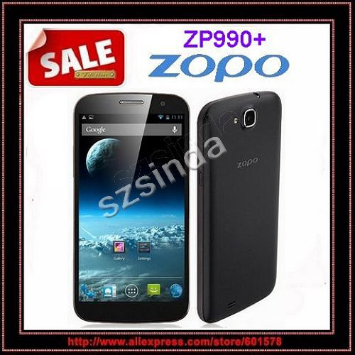 Original ZOPO ZP990+ MTK6592 Octa Core mobile phone 2GB RAM 32GB ROM 14MP Camera 6inch 1920*1080p Android 4.2 GPS OTG Cell phone(Hong Kong)