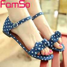 Plus Size34-44 2016 New Fashion Women Sandals buckle Print Canvas Shoes Flats Sandals Summer Female platforms Sandals FS382