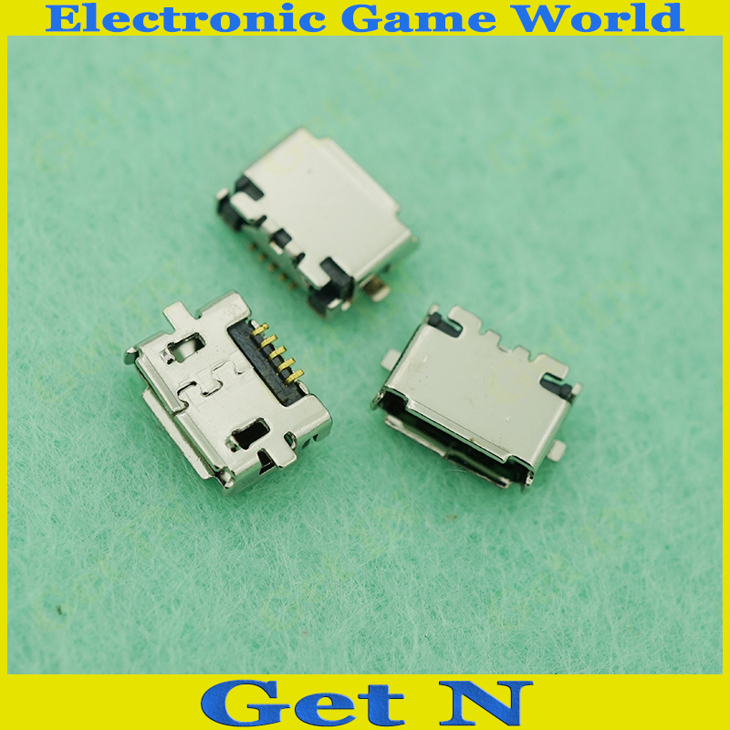 Micro USB Jack Tail Charging Jack Connectors for Nokia E7 E7-00 USB Power Sockects 10pcs/lot<br><br>Aliexpress