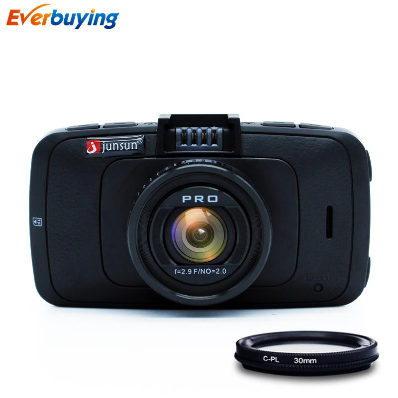 Ambarella A7LA70 Car DVR Camera GPS with Speedcam Full HD 1080p 60Fps Video Recorder Registrar Dash Cam Junsun A790(China (Mainland))