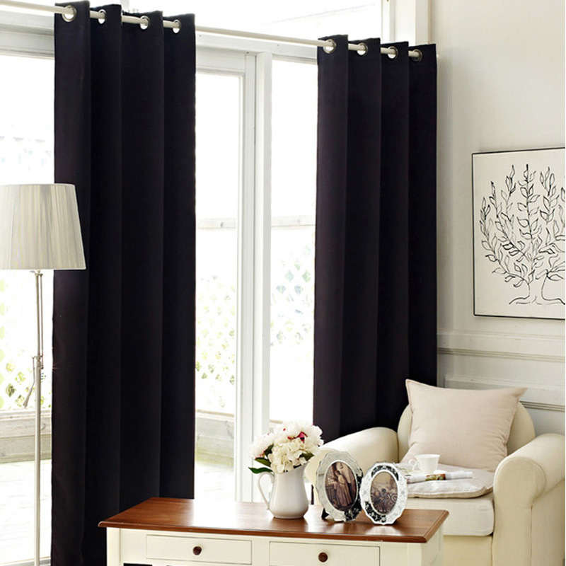 popular black bedroom curtains buy cheap black bedroom curtains lots