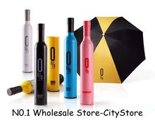 Free Shipping 50pcs/lot Fashion Creative Bottle Umbrella /Wine Bottle Umbrella 41 Styles for choosing(China (Mainland))