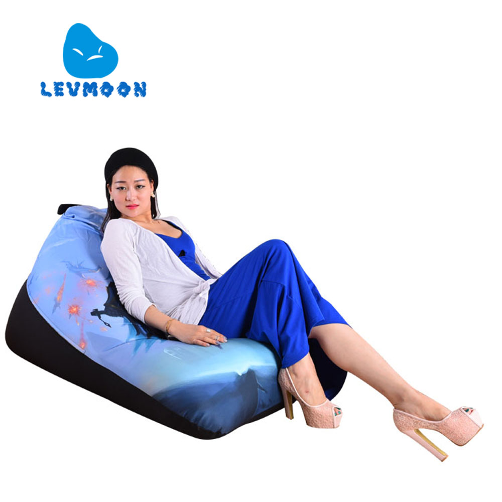 LEVMOON Beanbag Sofa Chair Magic Beauty Seat Zac Bean Bag Bed Cover Without Filling Indoor Beanbags(China (Mainland))