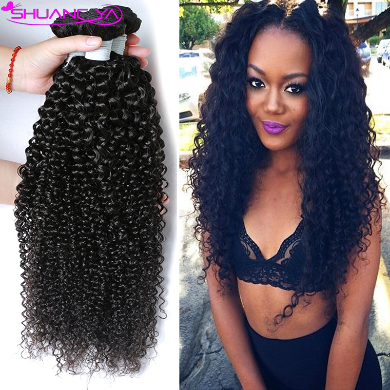 Afro Wave Hair Weave Human Hair Extensions