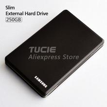 Free Shipping Slim Aluminum case design font b HDD b font 2 5 External Hard Drive