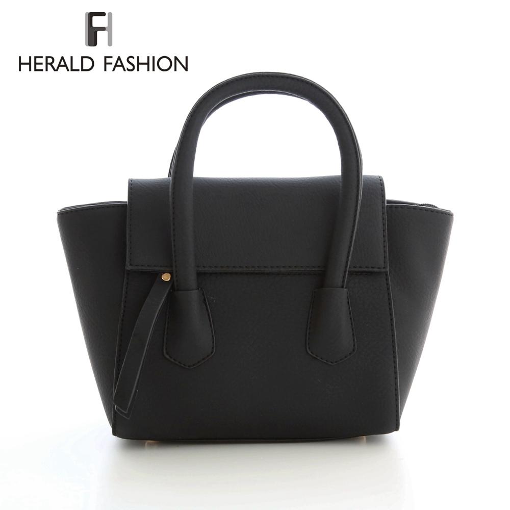 Herald Fashion Vintage Women Designer Inspire Tote Trapeze Big Ears Smiley Swing Bag Celebrity Handbag Small Women Shoulder Bag(China (Mainland))