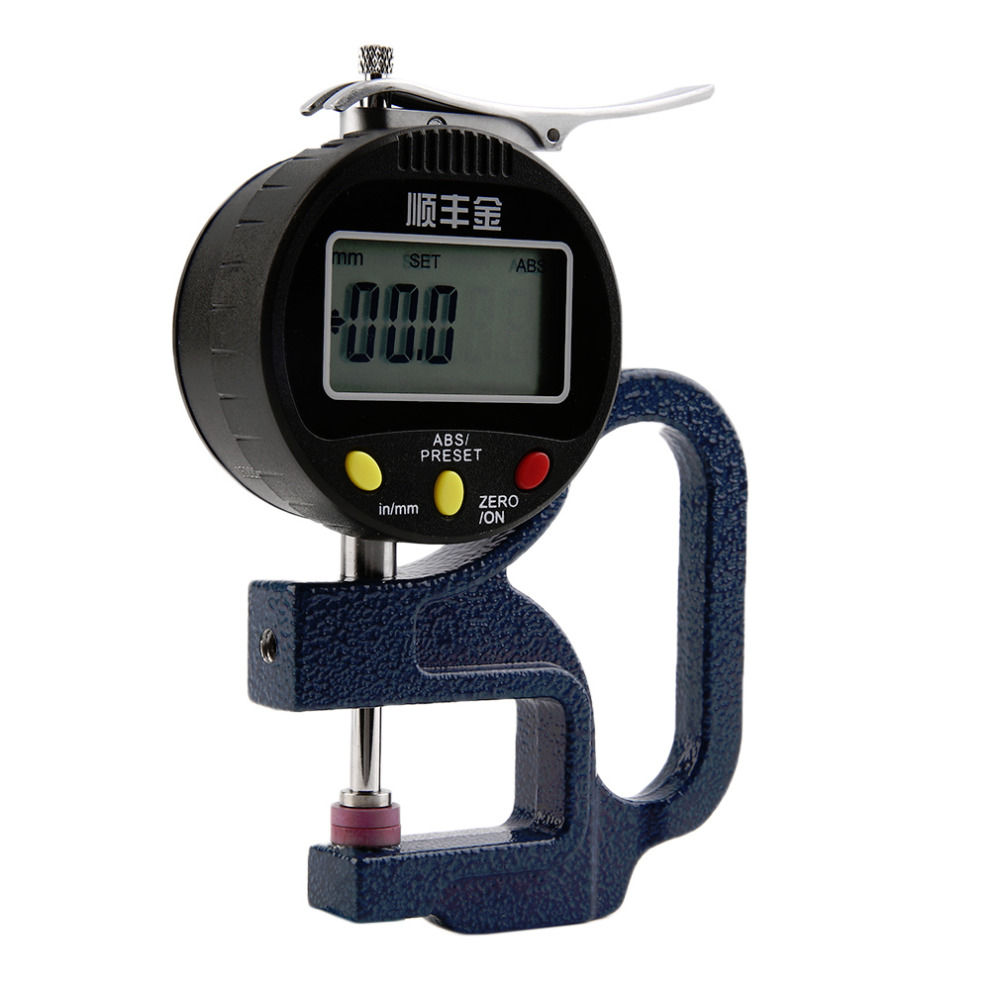 Precision 0-12.7mm 0.01mm Digital Electronic Measuring Thickness Gauge Meter Stock Offer