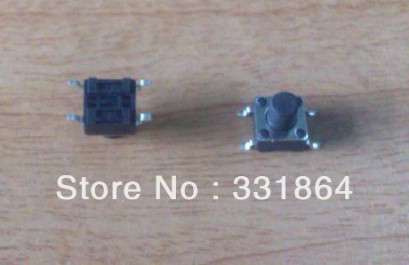 6X6X7H SMD copper pin tact switch push button switch 1000 pieces / lot Free shipping<br><br>Aliexpress