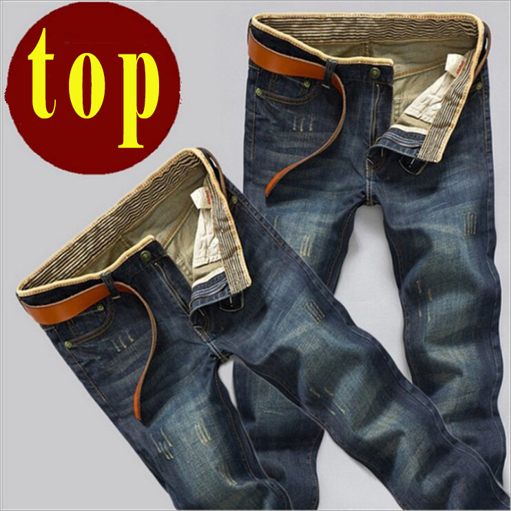 The jeans wholesale supply of male cat explosion models straight jeans Metrosexual slim pants on behalf of a man(China (Mainland))
