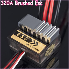Buy Wholesale 1pcs 4.8 7.2V 320A Nickel NiMH Brushed Electric Speed Controller Brush ESC RC Car boart 1/8 1/10 Truck Buggy for $7.01 in AliExpress store
