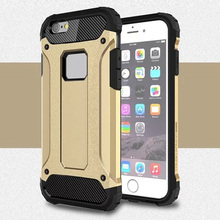 Buy i5 i6 6 plus hard tough plastic + tpu dual layer armor case iphone 6s 6 5s se 5 6 plus anti knock tough rubber covers cases for $3.39 in AliExpress store