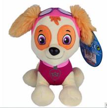 Kawaii!6pcs Plush Patrol Toys 12cm Cartoon Plush Doll dog Patrol Toy Puppy  Children Anime Figure patrulla canina kids Toys(China (Mainland))