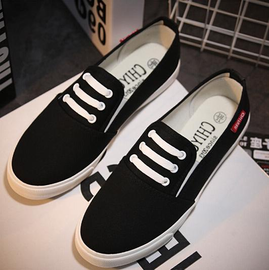 2015 Spring Summer Canvas Shoes Student Casual Fashion Women Flats Breathable Walking zapatos de lona - iFashion Forward store