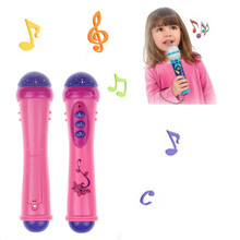 Baby Girls Boys Microphone Mic Karaoke Singing Kids Funny Gift Music Toy(China (Mainland))