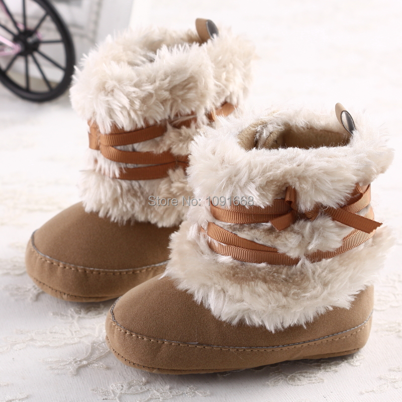 Newborn Girl Winter Boots | High 5 Games