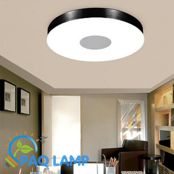 modern ceiling lamp lighting dia36cm round aluminum