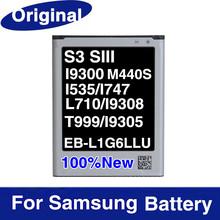 EB-L1G6LLU Original Battery For Samsung Galaxy S3 i9300 i9308 I535 I747 L710 T999 M440S 2100mAh Mobile Phone Accessories Parts