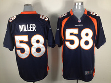 GAME stitched Denver Broncos Peyton Manning,Von Miller,DeMarcus Ware,Demaryius Thomas,Derek Wolfe,Paxton Lynch with the 50th(China (Mainland))