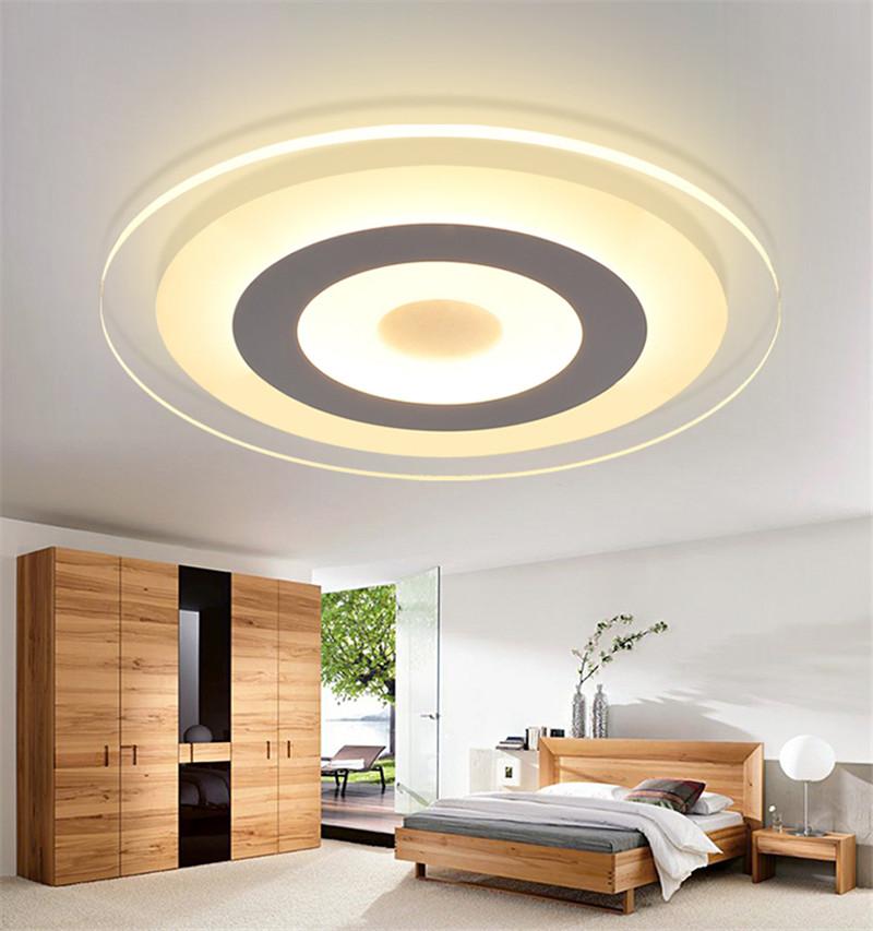 Modern Lustre LED Ceiling Lamp Acryl Round Ceiling Light
