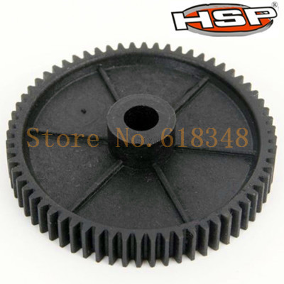1 Pcs 11164 HSP RC 1:10 Model 4WD Off-Road Car Truck Diff.Main Gear (64T) 94107 94110 XSTR 94107 Pro(China (Mainland))