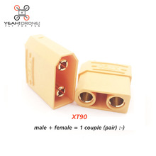 XT90 5 pairs Male XT90 Female XT90 Bullet Connector Plug for RC Motor Lipo Battery Quadcopter Multicopter FPV DIY DRONE