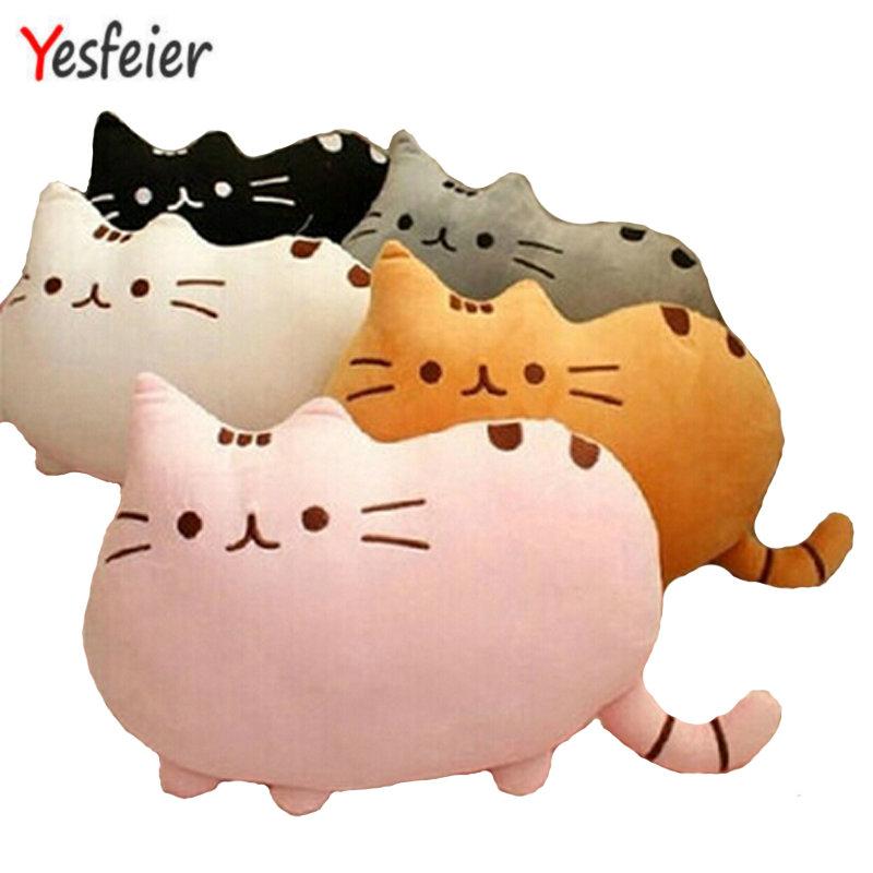 7 colors 40*30cm plush toy stuffed animal doll anime toy pusheen cat pusheen skin girl kid kawaii,cute cushion brinquedos Kids(China (Mainland))