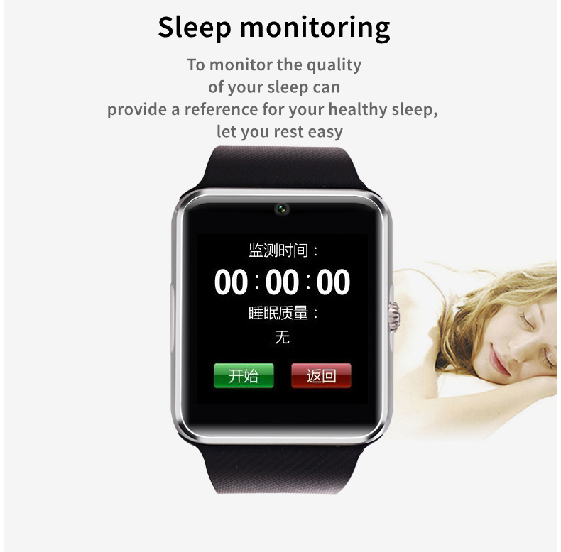 Android Smart Watch GT08 Clock Wearable Devices With Sim Card Slot Push Bluetooth Connectivity Phone Better Than DZ09 Smartwatch