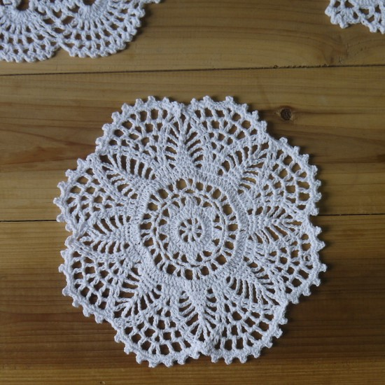 Free Crochet Patterns For Table Doilies : cup craft Picture - More Detailed Picture about Free ...