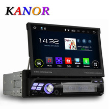 """Quad Core Android 4.44 Single 1 Din 7"""" Universal Car DVD Player With GPS Navigation Autoradio Stereo Central Multimedai System(China (Mainland))"""