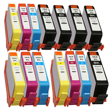 14pcs for hp364 Compatible Ink Cartridges for HP 364 364XL with Chip 3070A B209a B210A 5515 B010a B109d B109a B110c
