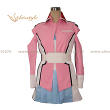 Kisstyle Fashion Mobile Suit Gundam Seed Destiny Stella Loussier Uniform COS Clothing Cosplay Costume,Customized Accepted