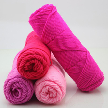 wholesale 10 balls/lot 500g natural soft silk milk cotton yarn thick yarn for knitting baby wool crochet yarn weave thread,Z2467(China (Mainland))