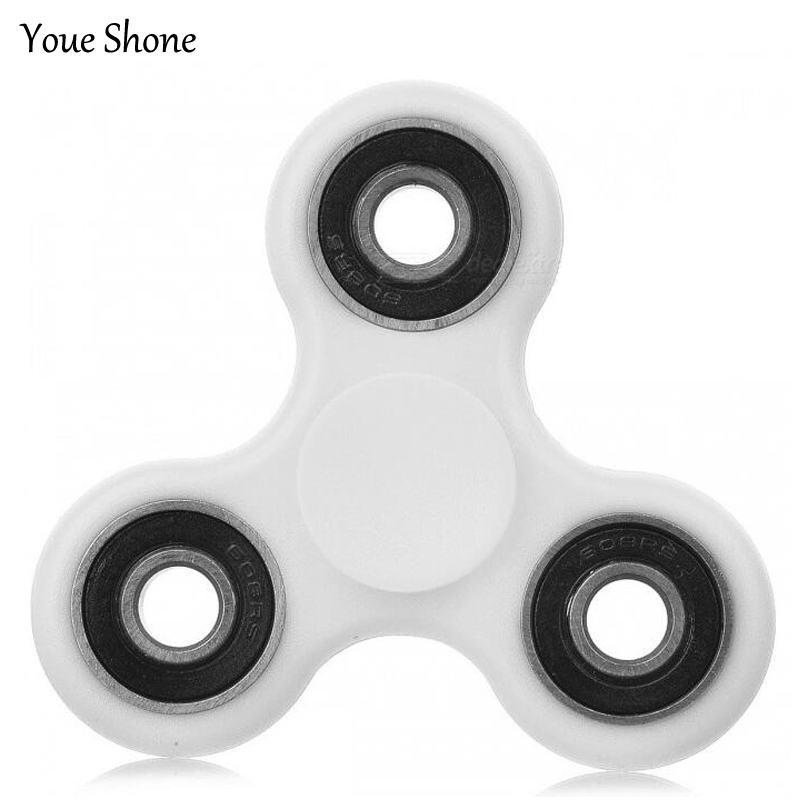 4 Colors EDC Fidget Spinner Tri-Spinner Hand Spinner For Autism and ADHD Children Adults Focus Keep Hands Busy