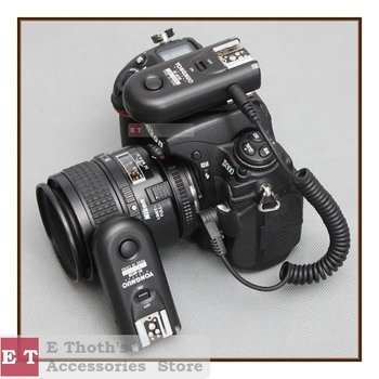 wholesale/free shipping Yongnuo RF-603 N1 Radio Flash Trigger for D300S D300 D200 D100 D3X & for digital camera dslr