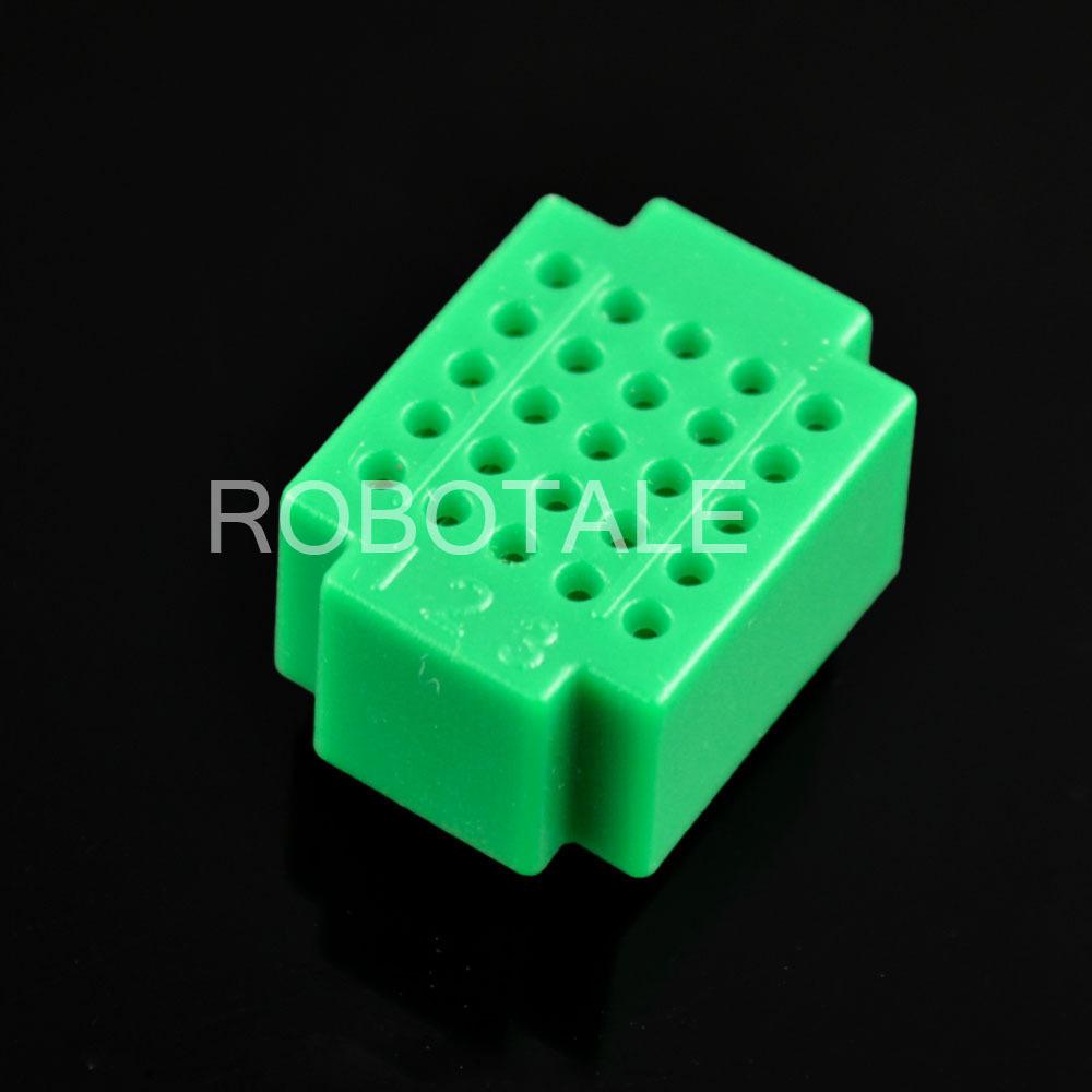 Free shipping!!! ZY-25 mini solderless breadboard / PCB circuit board / free solder test board/dark green(10 pieces/lot)(China (Mainland))