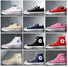 2016 year low white canvas shoes, casual shoes, men and women all size eur 35-45 Hot sale 5 star no box(China (Mainland))