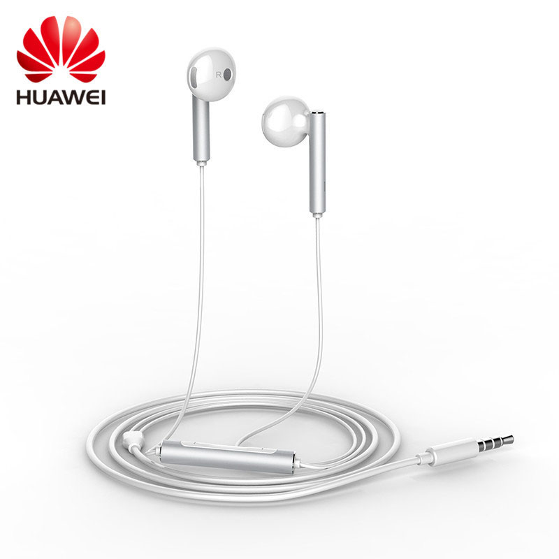 Original Huawei Earphone AM116 In-ear Headset with Microphone 3.5mm Earbuds for PC Huawei P8 Lite P7 Android Phones(China (Mainland))