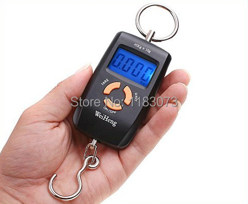 45kg 5g Double Precision Fishing Hook Scales Pocket Electronic Hanging Scale Digital Weight Balance Steelyard Free Shipping(China (Mainland))